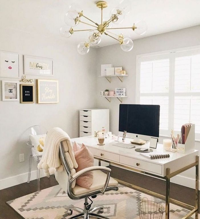 98 Perfect Home Office Decoration Models And Tips For Making Them 26
