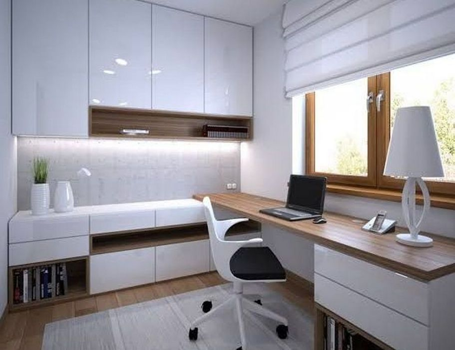 98 Perfect Home Office Decoration Models And Tips For Making Them 34