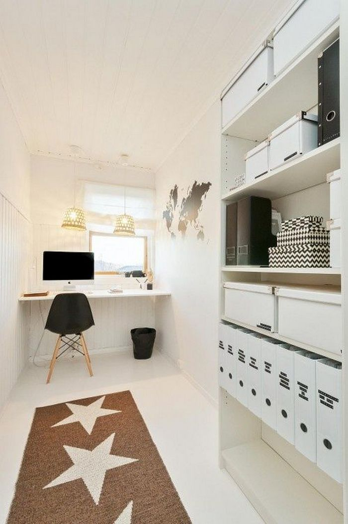 98 Perfect Home Office Decoration Models And Tips For Making Them 43
