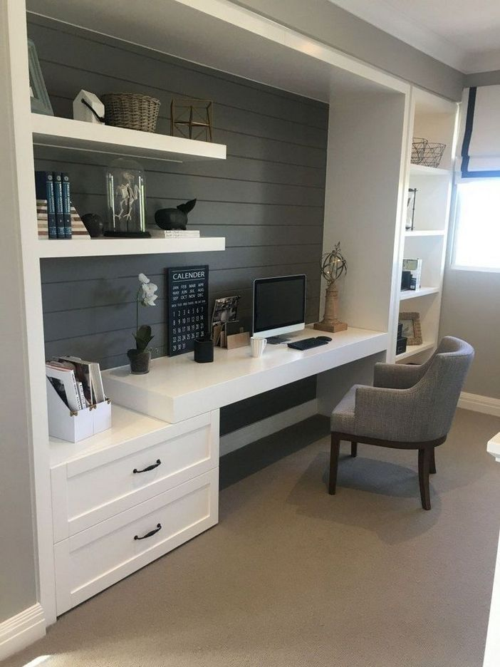 98 Perfect Home Office Decoration Models And Tips For Making Them 51