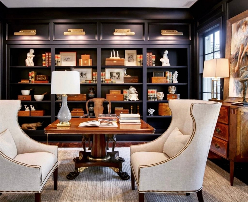 98 Perfect Home Office Decoration Models And Tips For Making Them 72