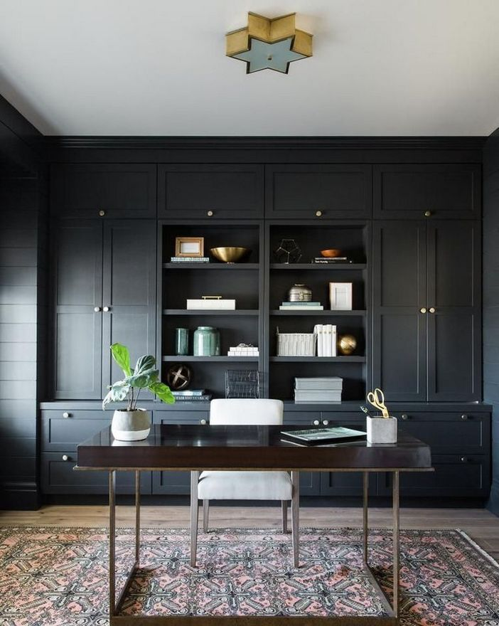 98 Perfect Home Office Decoration Models And Tips For Making Them 73