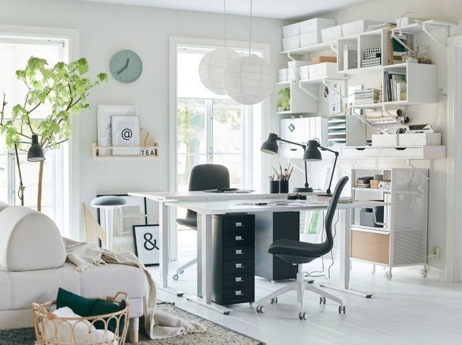 98 Perfect Home Office Decoration Models And Tips For Making Them 82