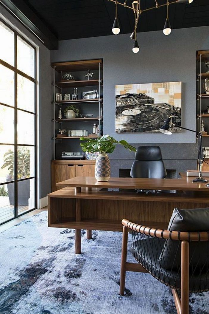 98 Perfect Home Office Decoration Models And Tips For Making Them 84
