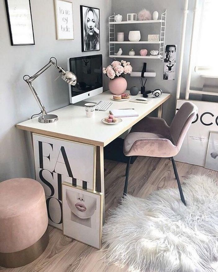 98 Perfect Home Office Decoration Models And Tips For Making Them 87