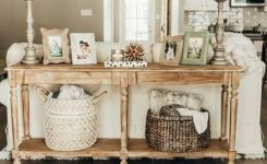 87 Ideas For Sofa Table Decorations And The Best Ways To Use Them 24