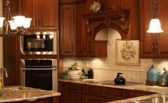 92 Models Of Cherry Kitchen Cabinets Are A Classic Alternative Choice To Meet Your Home Decor 54