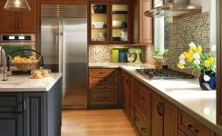 92 Models Of Cherry Kitchen Cabinets Are A Classic Alternative Choice To Meet Your Home Decor 57