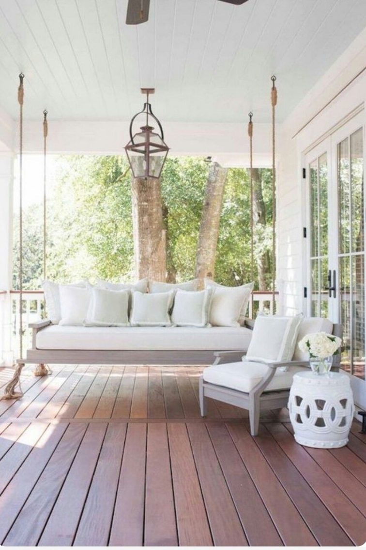 71 Beautiful Swing Models for Your Front or Back Porch 11351