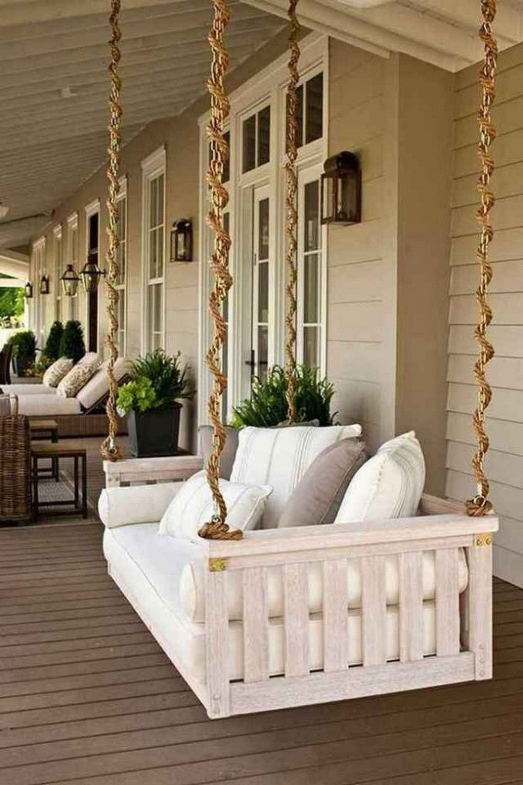 71 Beautiful Swing Models for Your Front or Back Porch 11352