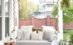 71 Beautiful Swing Models For Your Front Or Back Porch 5
