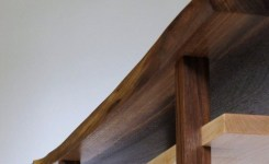 Live Edge Wood Console Table 20