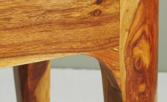Wood Waterfall Console Table 56