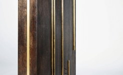 Wood Waterfall Console Table 94