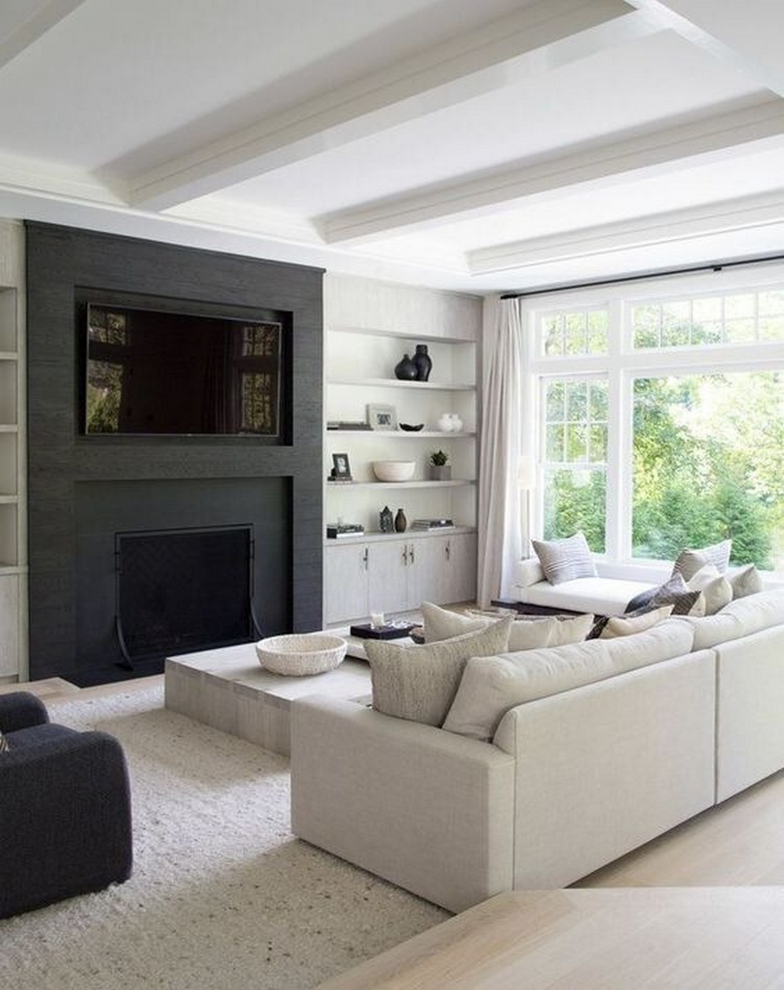 ✔20 White Monochromatic Living Rooms Filled With Charming Personality