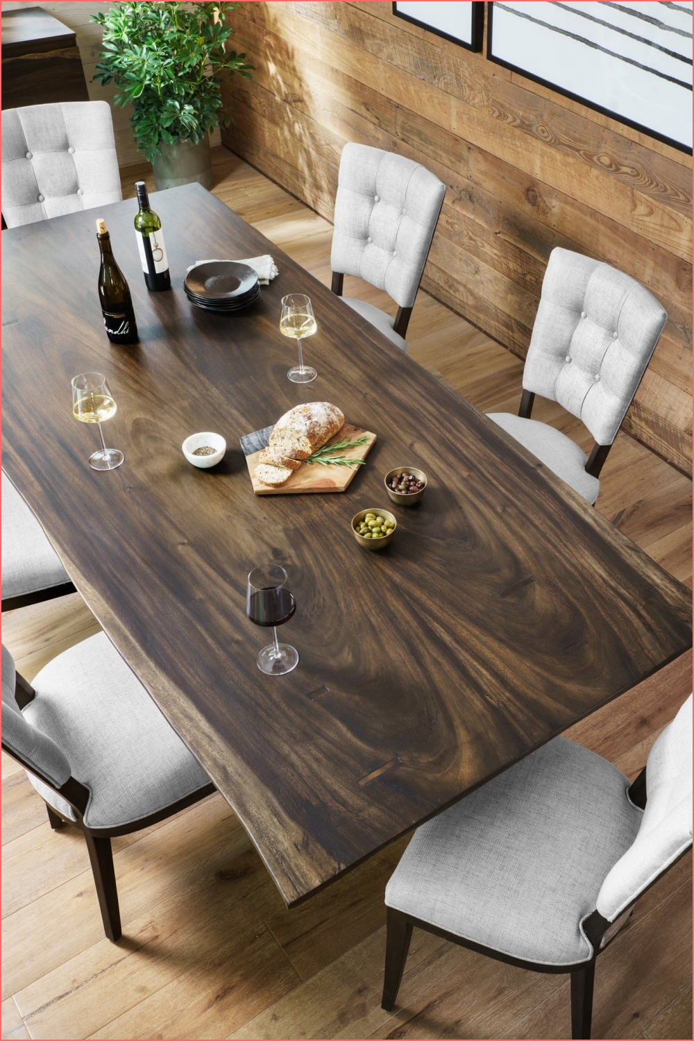 The Rocky Dining Table from Four Hands features a modern X on dining table design on dining table design post on 2020-11-24 16:29:04