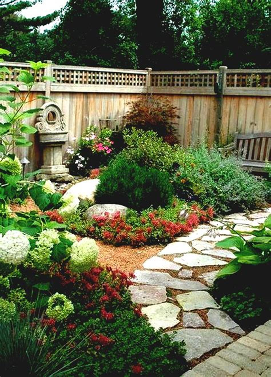 45 Best and Cheap Simple Front Yard Landscaping Ideas 36 ... on Inexpensive Backyard Landscaping id=58220