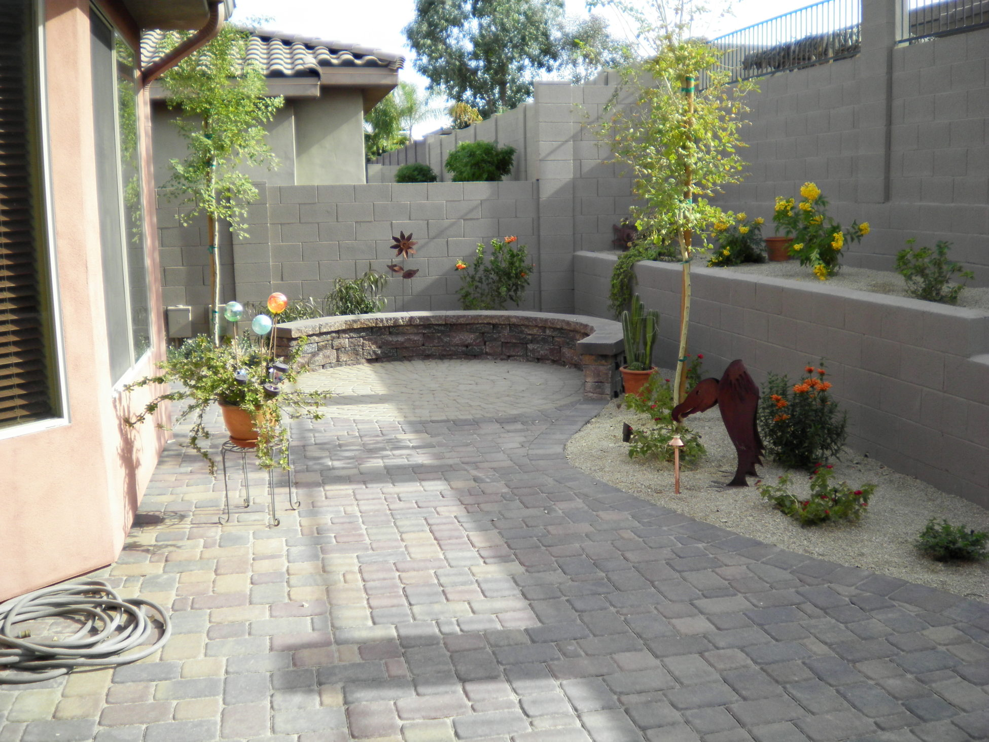 Paver Designs and Paver Ideas for Your Backyard Patios on Backyard Pavers And Grass Ideas id=93787