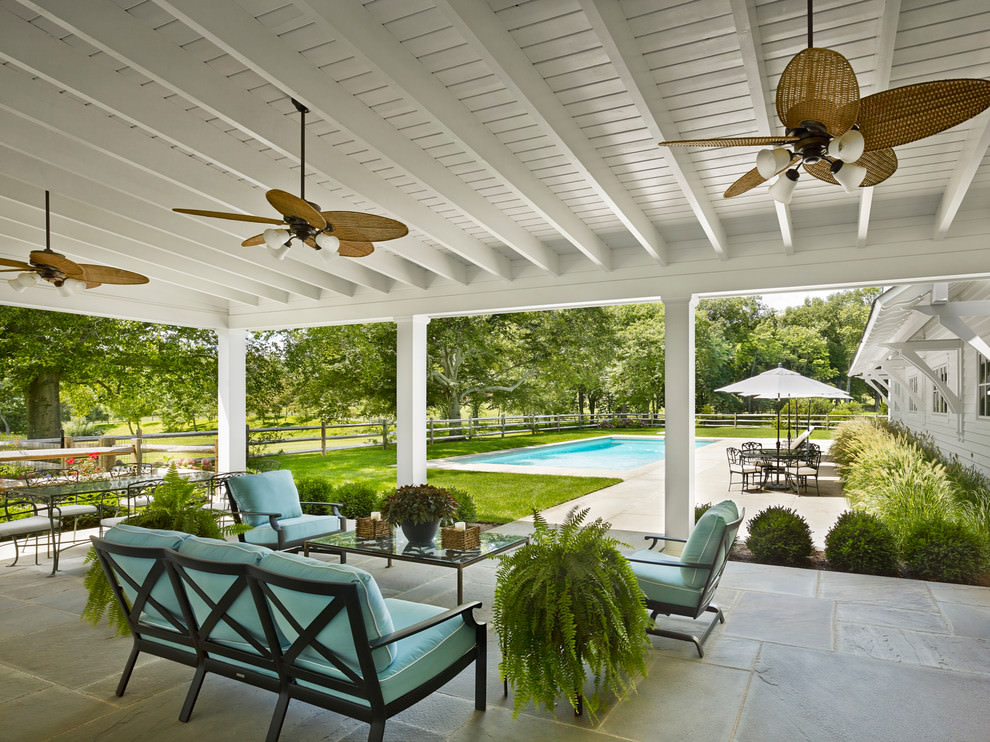 24+ Patio Roof Designs, Ideas, Plans. | Design Trends ... on White Patio Ideas id=83466