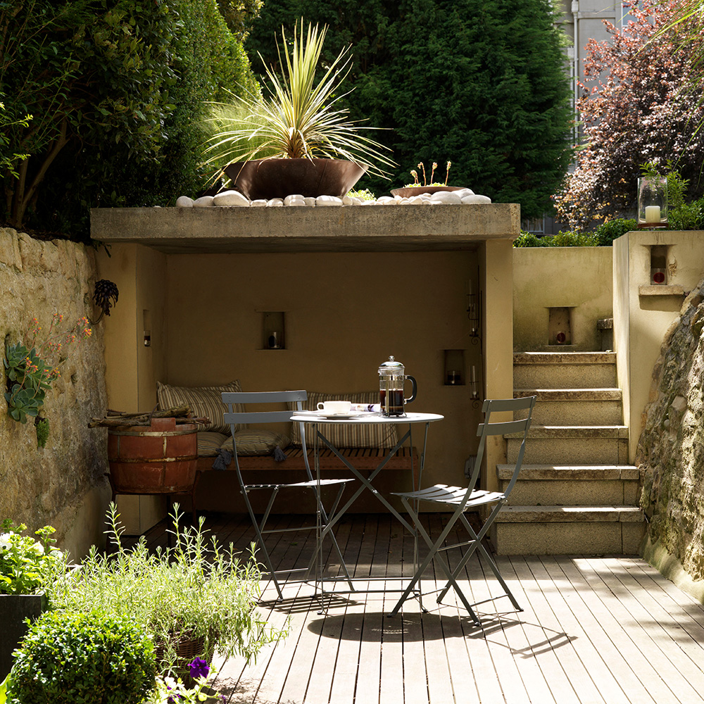 Small garden ideas to revitalise your outdoor space on Back Garden Seating Area Ideas id=11818