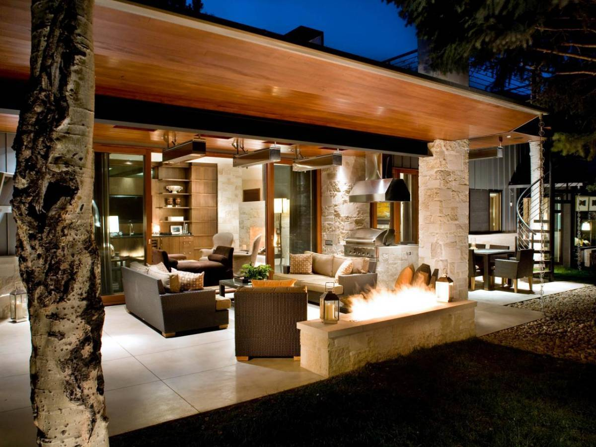 20 Impressionable Covered Patio Lighting Ideas - Interior ... on Covered Patio Design Ideas id=38448