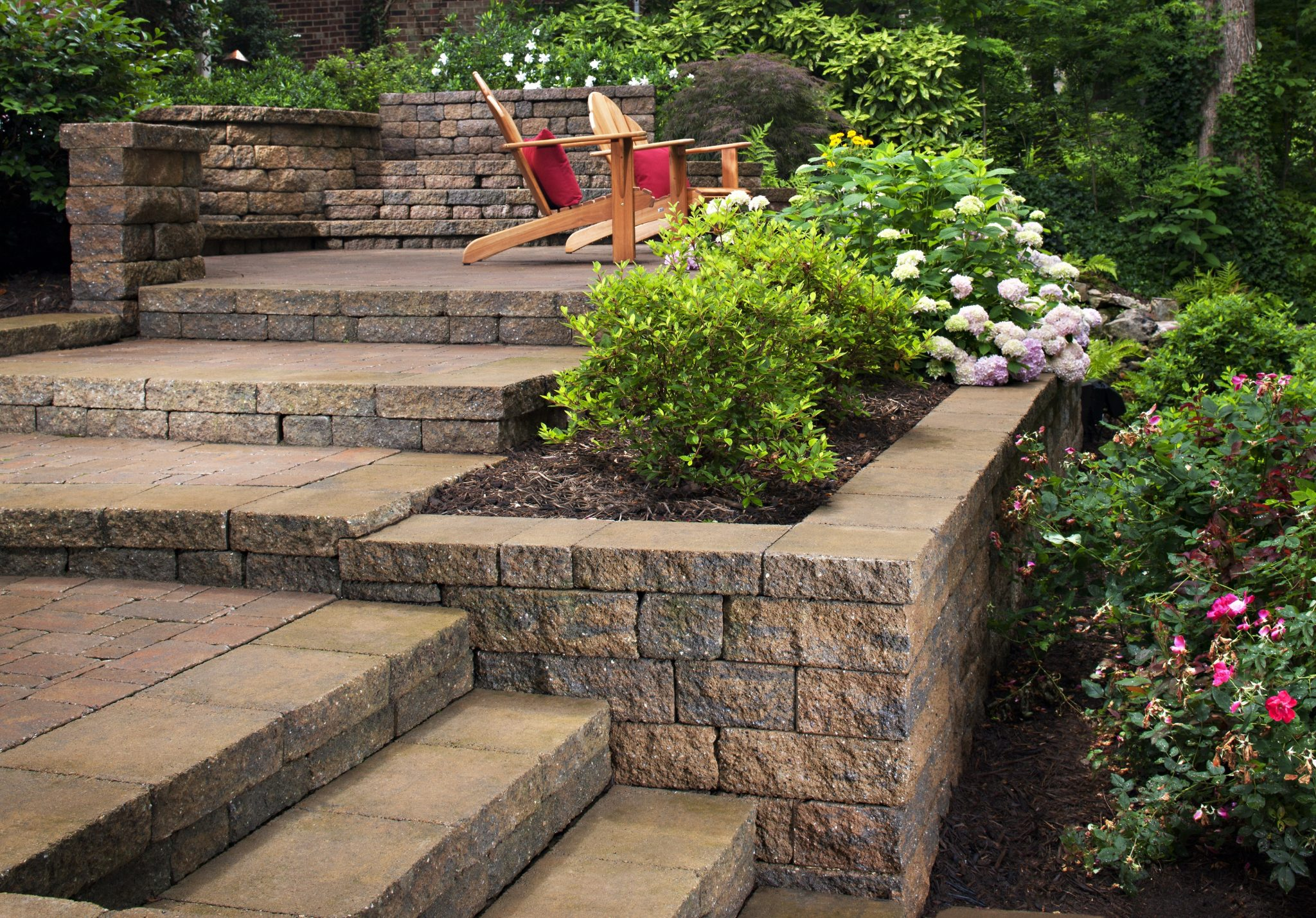 Landscaping Ideas For Hillside: Backyard Slope Solutions ... on Sloped Yard Ideas id=67453
