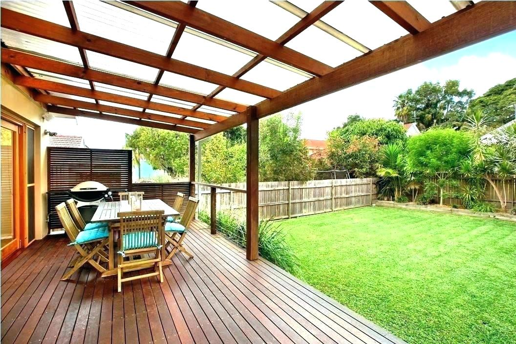 Roofed Patio Backyard Cheap Best Outdoor Kitchen Ideas And ... on Deck Over Patio Ideas id=97369