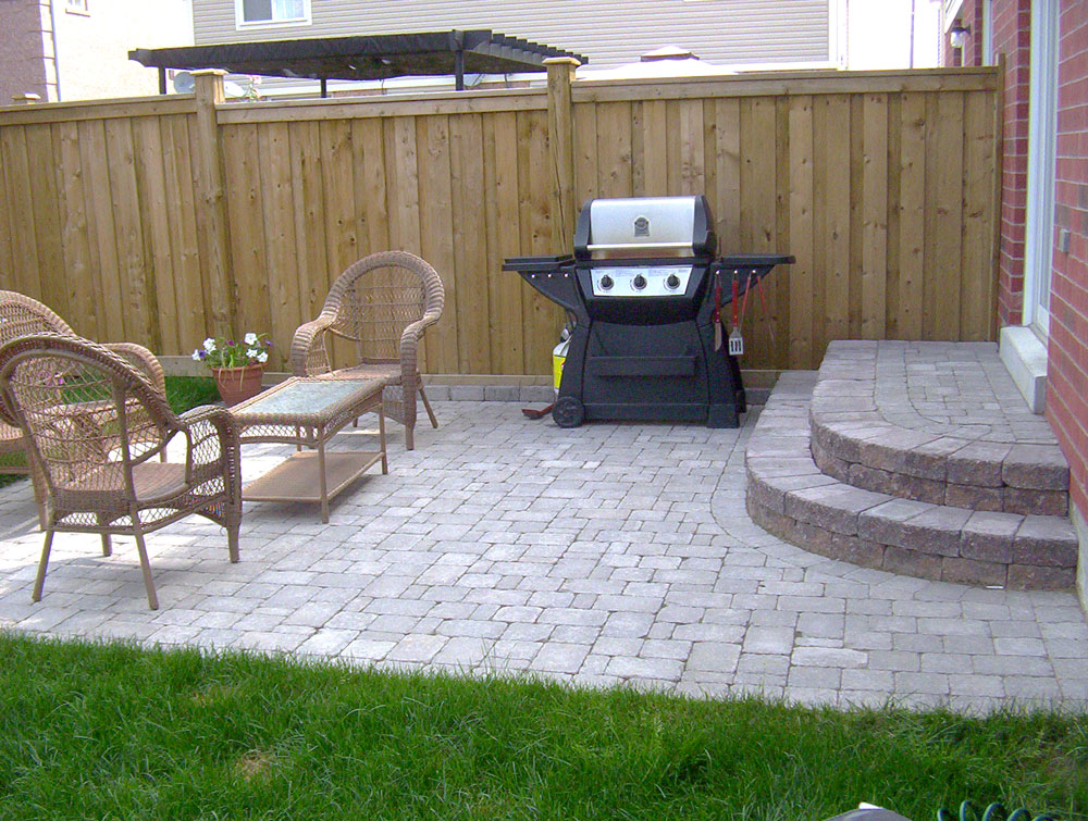 Simple Patio Ideas For Small Backyards Design Decorating ... on Simple Concrete Patio Designs id=74665