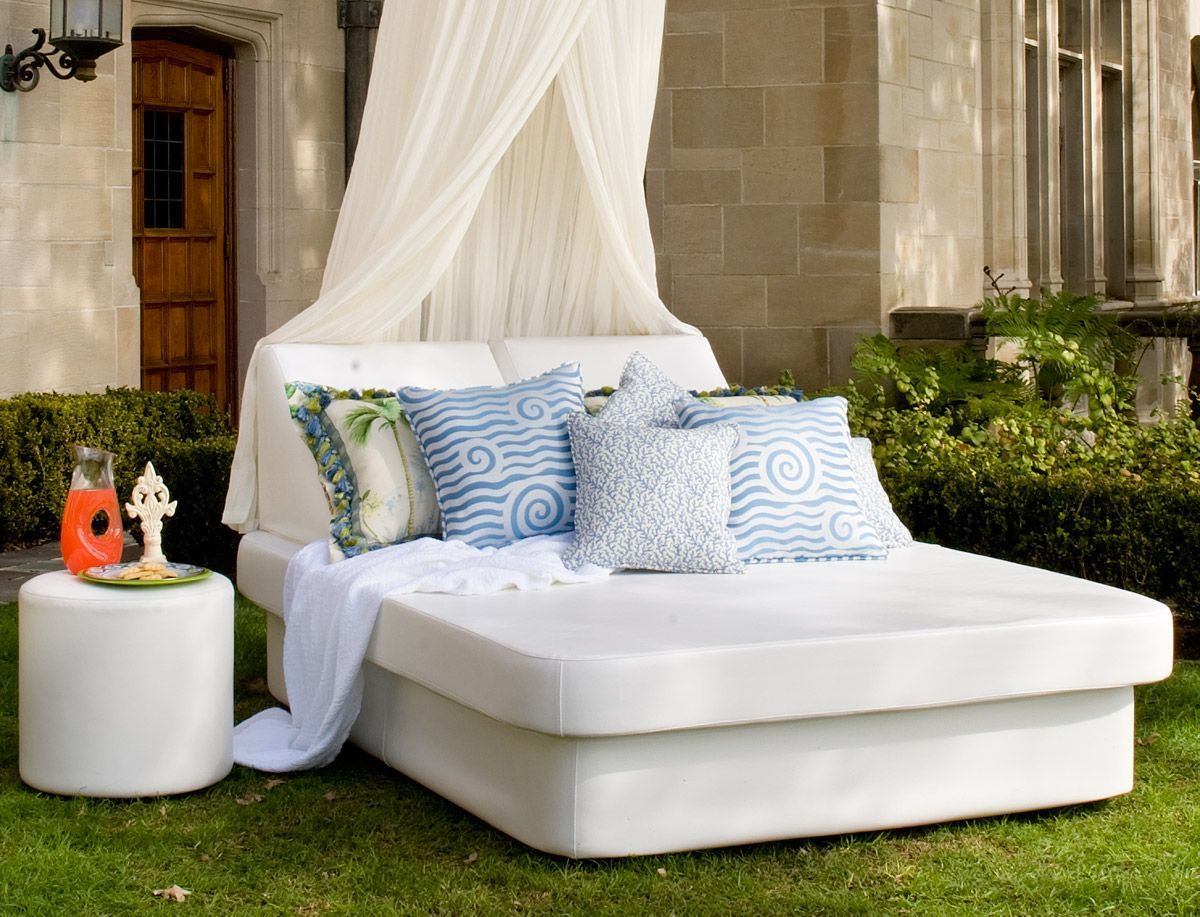 Aether Queen Sized Daybed | Daybed sets, Outdoor daybed ... on Living Spaces Outdoor Daybed id=40225