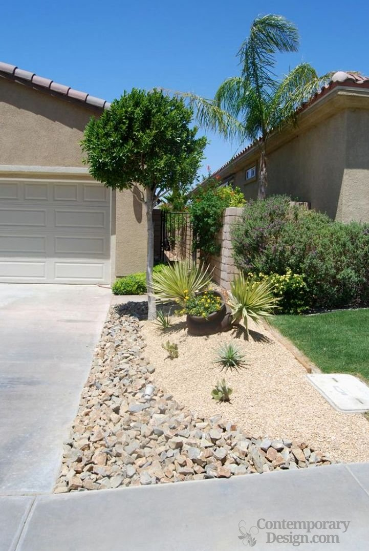 Landscaping ideas for small front yards - Contemporary-design on Small Yard Landscaping Ideas id=22869