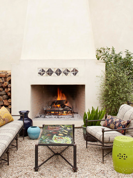 The Ideas for Outdoor Fireplace Designs for your Need on Amazing Outdoor Fireplaces id=30153