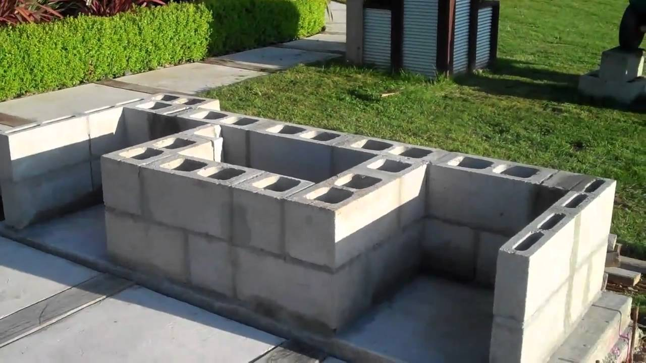 Ideas For Build Cinder Block Outdoor Fireplace — Rickyhil ... on Outdoor Fireplace With Cinder Blocks id=51423