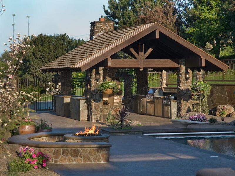 Tips For Making Outdoor Living Spaces - MidCityEast on Outdoor Kitchen Living Spaces id=12553