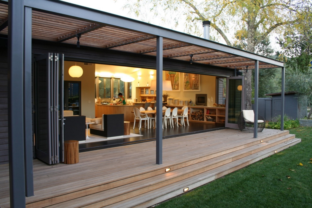 Porch vs. Patio: Your Design Questions Answered on Modern Back Patio id=31577