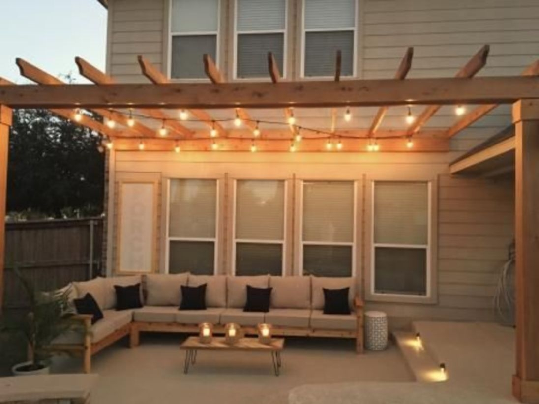 17 Cool and Relaxing Outdoor Living Spaces Design Ideas ... on Living Spaces Outdoor Sectional id=33408