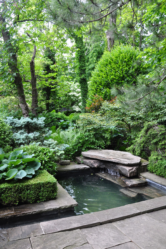 Three Dogs in a Garden: Pin Ideas: Small Water Features ... on Water Feature Ideas For Patio id=46006