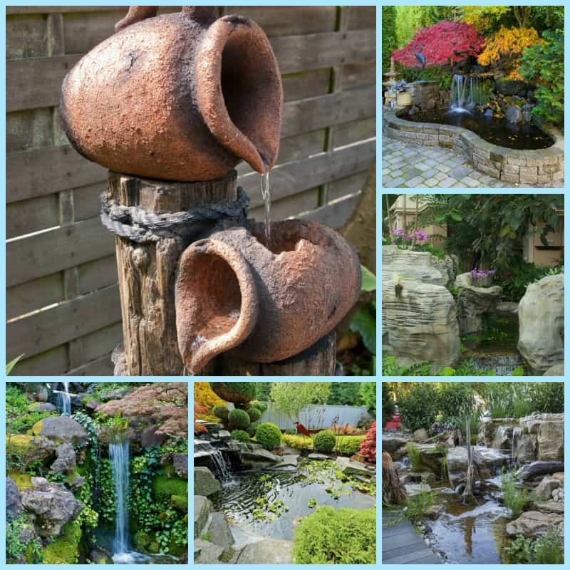 Backyard Waterfall Ideas For A Relaxing Atmosphere on Waterfall Ideas For Garden id=46601