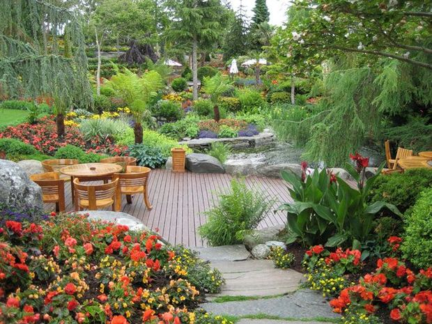 Beautiful Backyards: Inspiration for Garden Lovers! • The ... on Beautiful Patio Designs id=90009