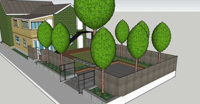Landscape Plans   Project 563 on Sketchup Backyard id=79877