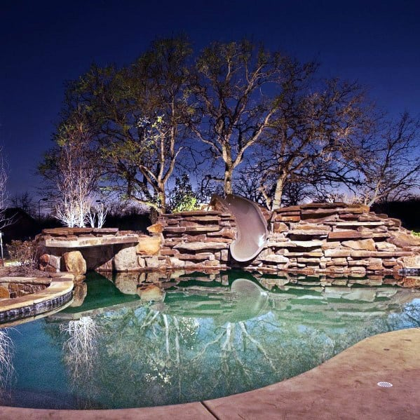 Top 40 Best Pool Landscaping Ideas - Aesthetic Outdoor ... on Nice Backyard Landscaping Ideas id=60188