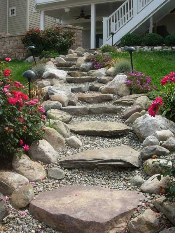 22 Amazing Ideas to Plan a Slope Yard That You Should Not ... on Sloped Yard Ideas id=40828
