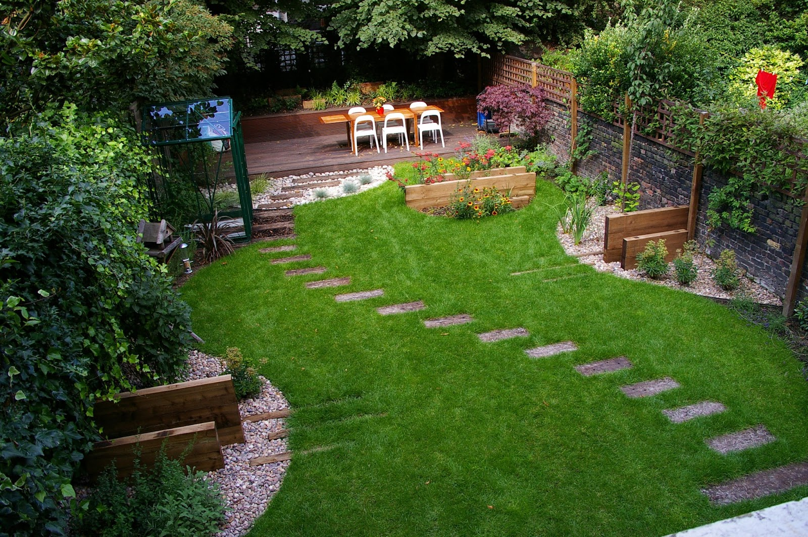 Small Landscaping Ideas for Backyard Designs for Privacy on Backyard Landscaping Ideas On A Budget id=30559
