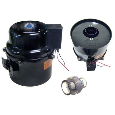 Air Supply Spa Air Blower 1.0Hp 120V Silencer 6310120F-TS