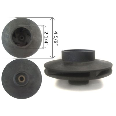 Aqua-Flo 0.75 HP Medium-Head Dominator Impeller 91692455 V40-411