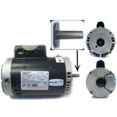 Aqua-Flo Medium-Head Dominator A-Series Pump Motor 1 HP B122