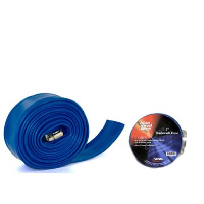 Blue Devil Backwash Hose  2in 50 ft W/CLAMP B8258