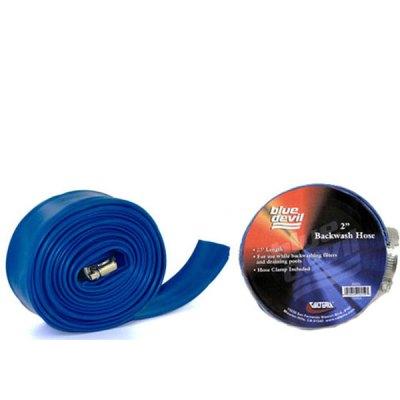Blue Devil Backwash Hose  2in x 100ft W/CLAMP B8257