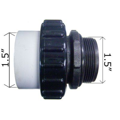CMP 1.5 in. MIP x 1.5 in. PVC Hi-Temp Union 21063-150-000