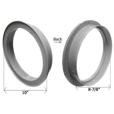CMP Gray 10 in. Water Leveler Lid Collar 25504-001-020