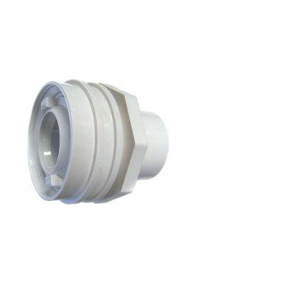 Flush Mount Return Fitting White 1 inch Socket Waterway 400-9190